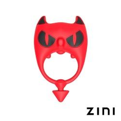 ZINI 굵은악마 RED - 진동 페니스링 (콕링)